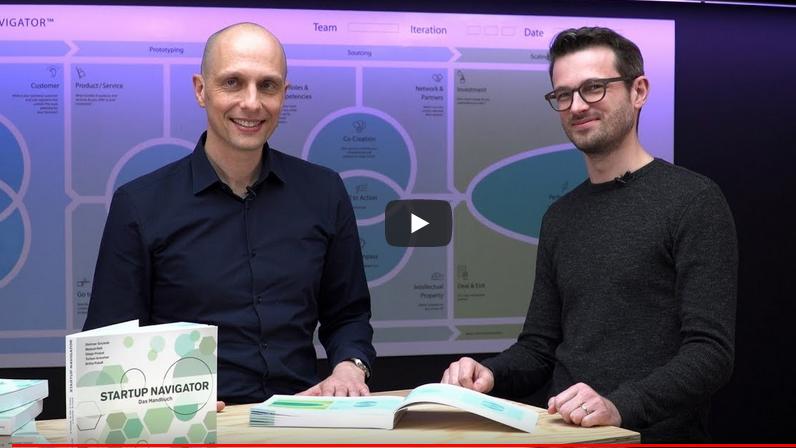 Videointerview St. Galler Startup Navigator von Dietmar Grichnik und Manuel Hess veröffentlicht.