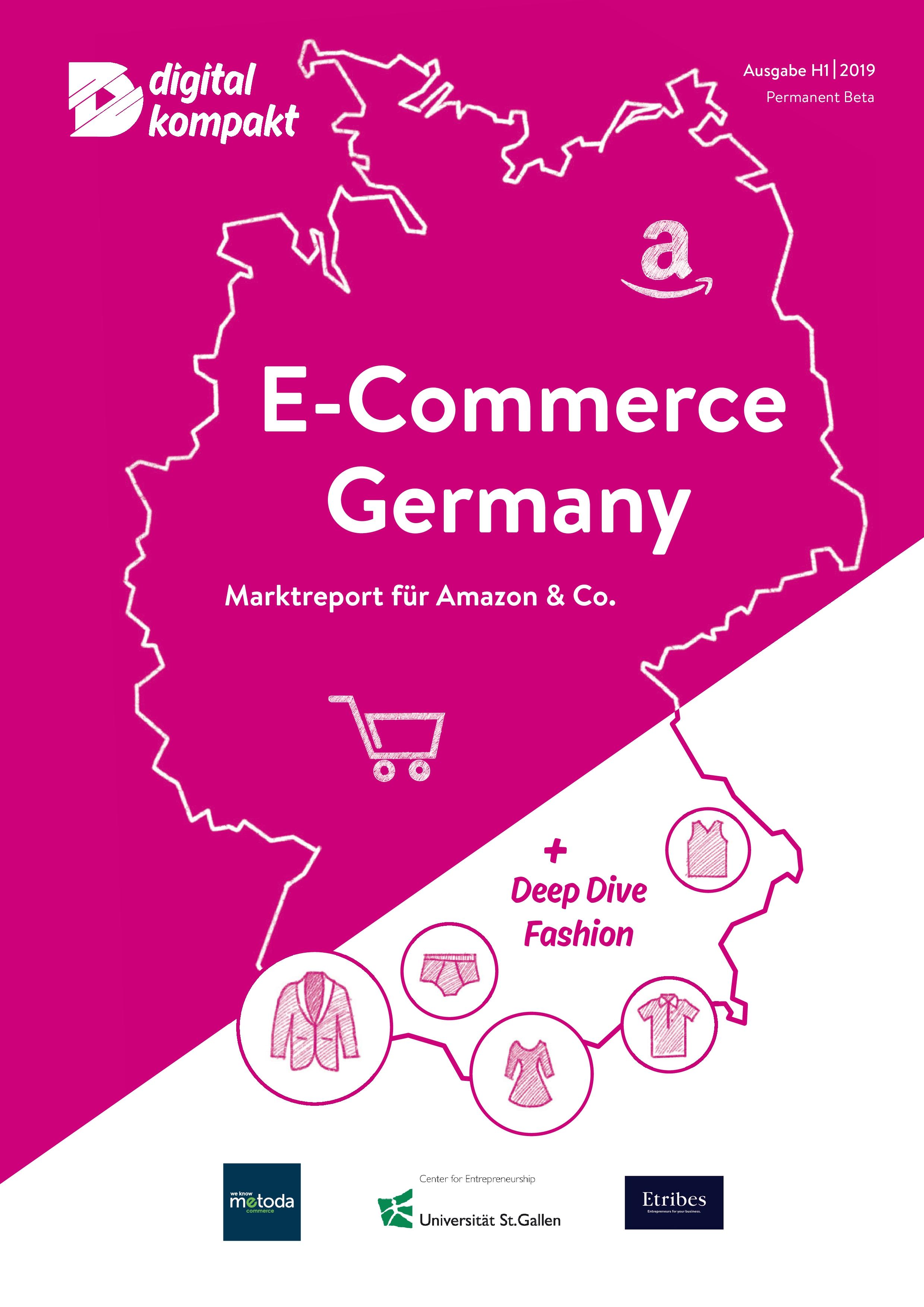 E-Commerce Germany Report liefert neue Zahlen zur realen Marktdominanz von Amazon in Deutschland
