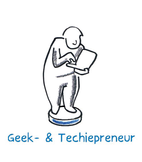 The Geek- and Techiepreneur is tinkering with the algorithm that is supposed to change our daily consumer behaviour on the Internet. Be it the search help for unconscious customer wishes or the Internet of Things, which networks our devices.