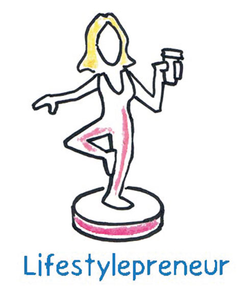 The Lifestylepreneur is offered a career alternative that doesn't have to break new ground, but that satisfies his own passion, perhaps for something as unusual as protein-rich insect fast food in Europe.